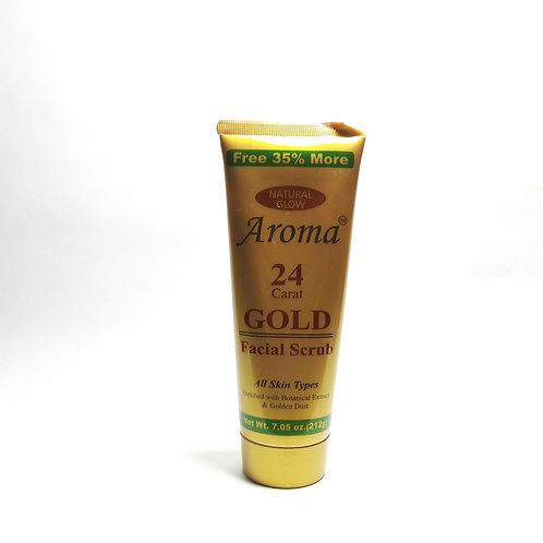 Aroma gold facial scrub