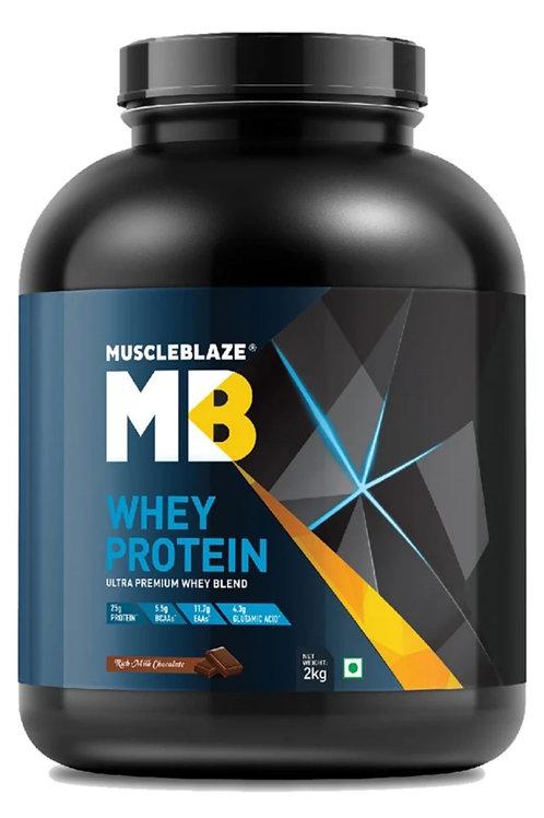 Muscleblaze100% Whey Protein powder with digestive Enzyme