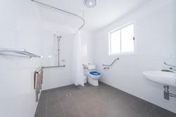 Accessible cabin bathroom