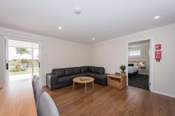 Large cabin lounge area