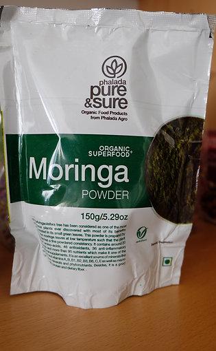 Moringa pulber, 150g