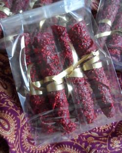Raspberry-Cowberry rolls 1