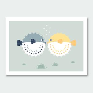 Kugelfisch Küsse