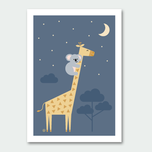 Giraffe & Koala