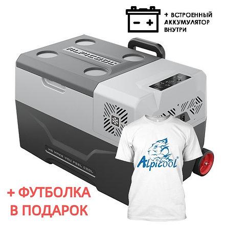Alpicool CX30-S (30L). Однокамерный 12/24/110/220V.