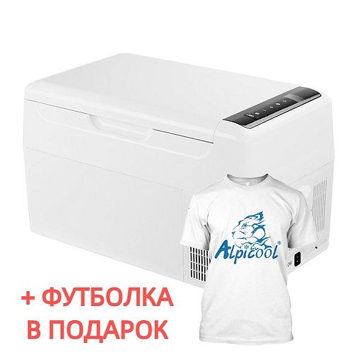 Alpicool BAR22 (22L). Однокамерный 12/24/110/220V. (White)