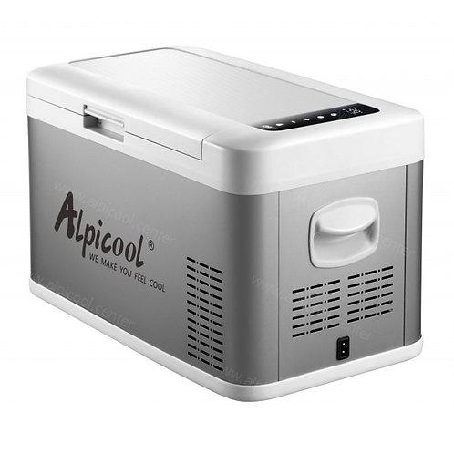Alpicool MK25 (25L). Двухкамерный 12/24/110/220V.