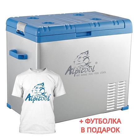 Alpicool A50 (50L). Однокамерный 12/24/110/220V.
