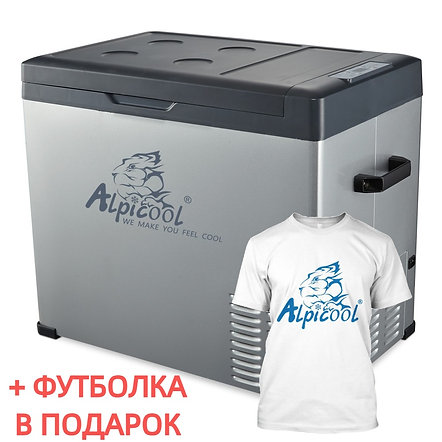Alpicool C50 (50L). Однокамерный 12/24/110/220V.
