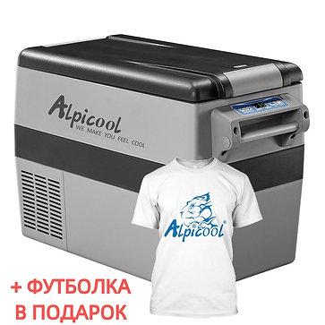 Alpicool CF45 (45L). Двухкамерный 12/24/110/220V.