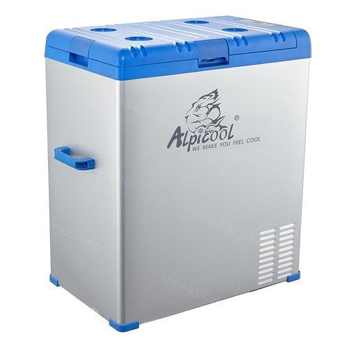 Alpicool A75 (75L). Однокамерный 12/24/110/220V.