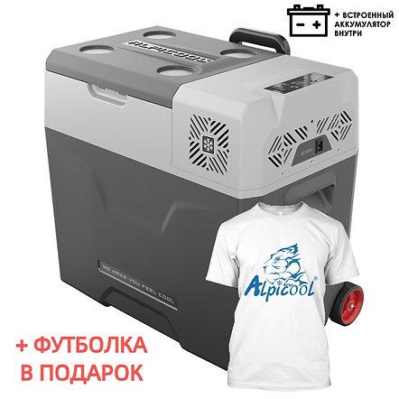 Alpicool CX50-S (50L). Однокамерный 12/24/110/220V.