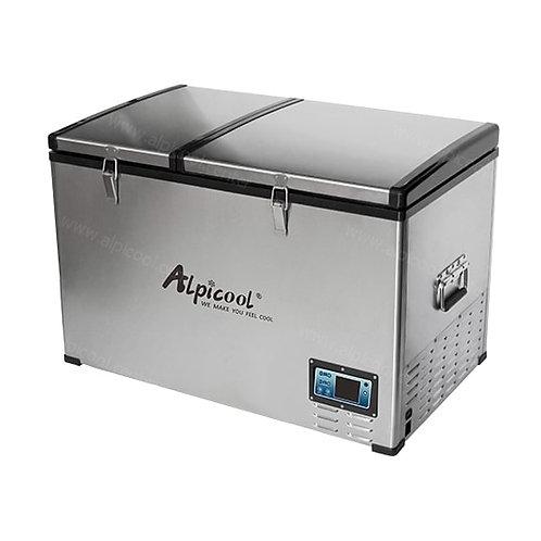 Alpicool BCD100 (100L). Двухкамерный 12/24/110/220V.