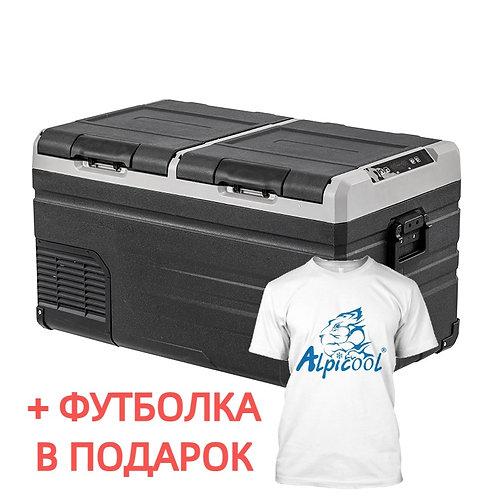 Alpicool TW75 (75L). Двухкамерный 12/24/110/220V.