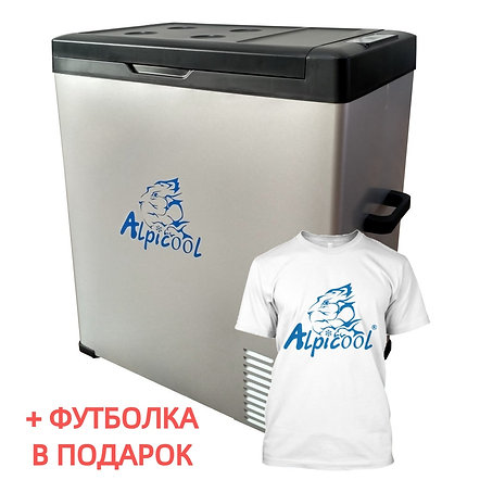 Alpicool C75 (75L). Однокамерный 12/24/110/220V.