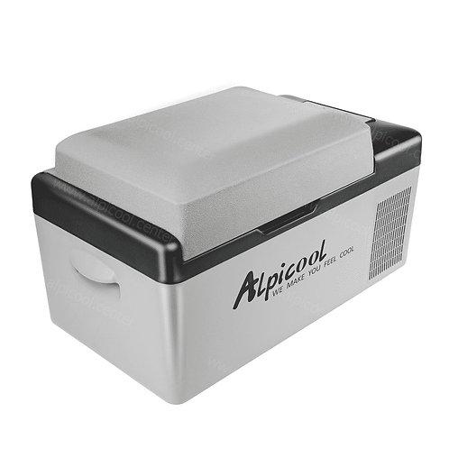 Alpicool C20 (20L). Однокамерный 12/24/110/220V.