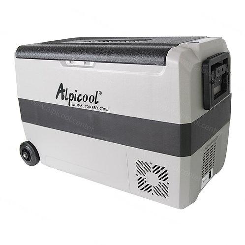 Alpicool T50 (50L). Двухкамерный 12/24/110/220V.