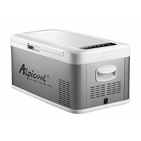 Alpicool MK18 (18L). Двухкамерный 12/24/110/220V.