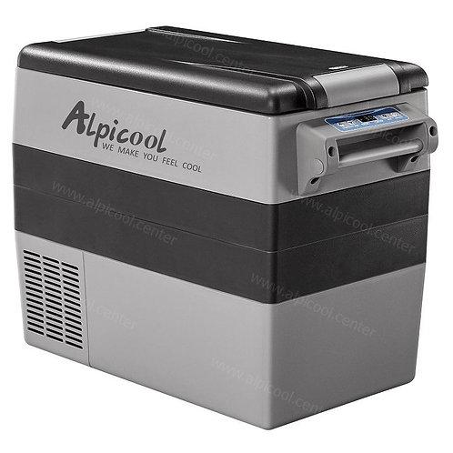 Alpicool CF55 (55L). Двухкамерный 12/24/110/220V.