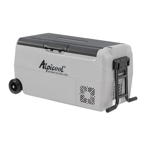 Alpicool ET36 (36L). Двухкамерный 12/24/110/220V.