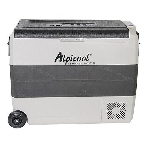 Alpicool T60 (60L). Двухкамерный 12/24/110/220V.