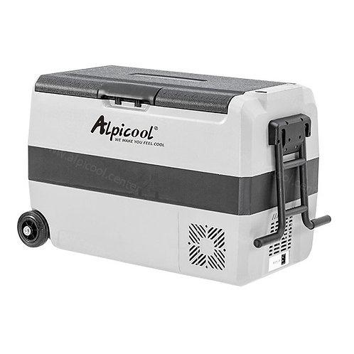 Alpicool ET50 (50L). Двухкамерный 12/24/110/220V.