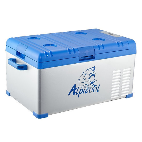 Alpicool A25 (25L). Однокамерный 12/24/110/220V.
