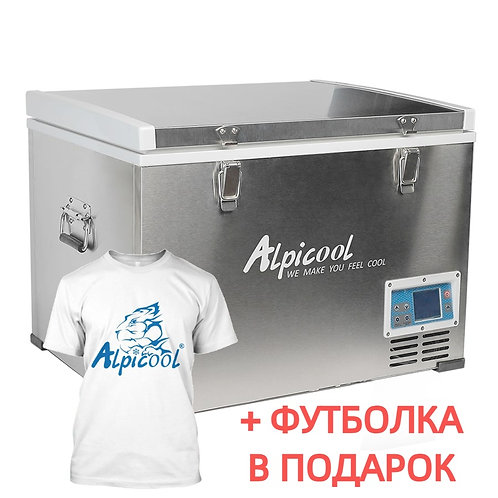 Alpicool BD85 (85L). Однокамерный 12/24/110/220V.