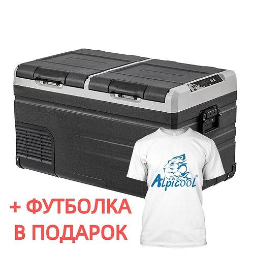 Alpicool TW95 (95L). Двухкамерный 12/24/110/220V.