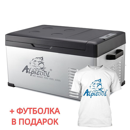 Alpicool C25 (25L). Однокамерный 12/24/110/220V.