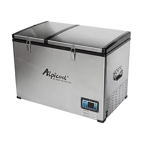 Alpicool BCD125 (125L). Двухкамерный 12/24/110/220V.