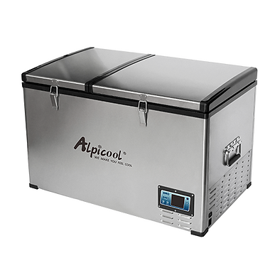 Alpicool BCD80 (80L). Двухкамерный 12/24/110/220V.