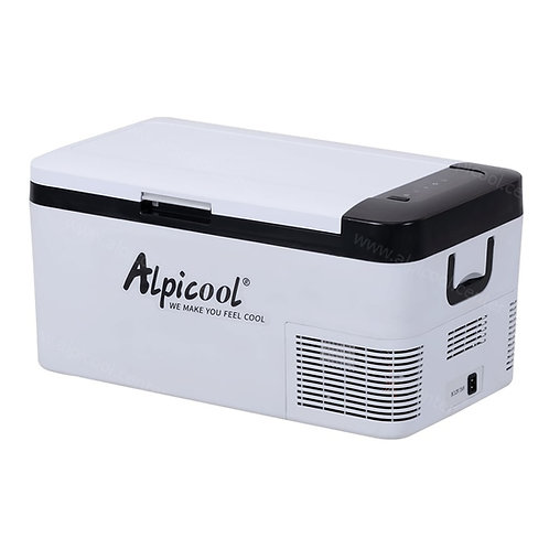 Alpicool K18 (18L). Двухкамерный 12/24/110/220V.