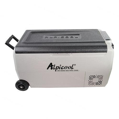 Alpicool T36 (36L). Двухкамерный 12/24/110/220V.