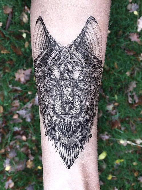 Aurora Temporary Tattoo