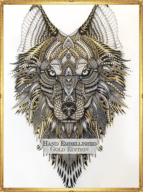 Aurora Hand Embellished Gold Edition