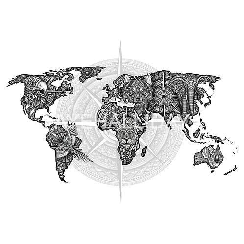 Limited Edition World Map