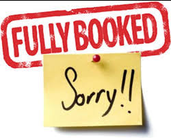 Fully Booked - Sorry!