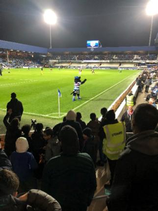 "City Sport Academy trip to Rangers ""QPR""   londonsportstrust"
