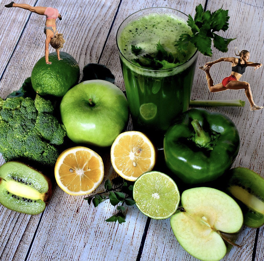Green Veggie Smoothie for Breakfast Meal Prep