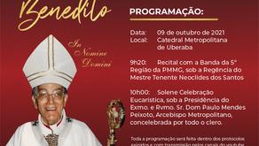 Jubileu do nascimento de Dom Benedito acontece neste sábado, 09 de outubro