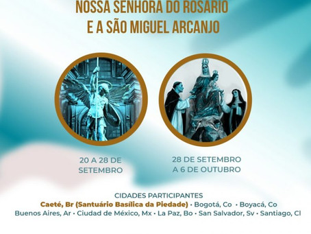 Fiéis de diferentes cidades da América Latina se unem em oração
