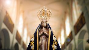 Paróquias e comunidades iniciam programação em louvor à Nossa Senhora Aparecida