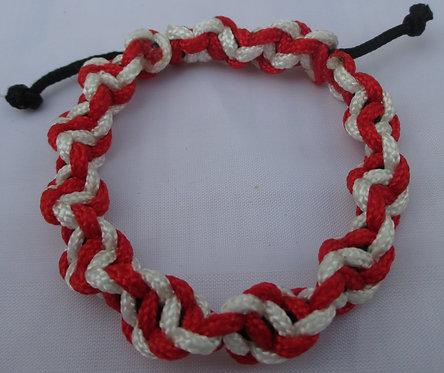 Double Cord Twist Bracelet