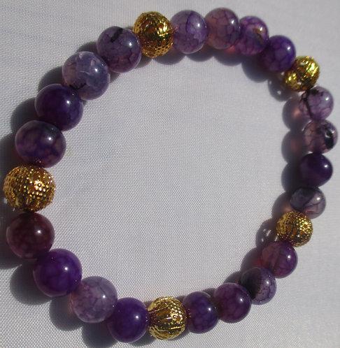 Royal Purple Bracelet