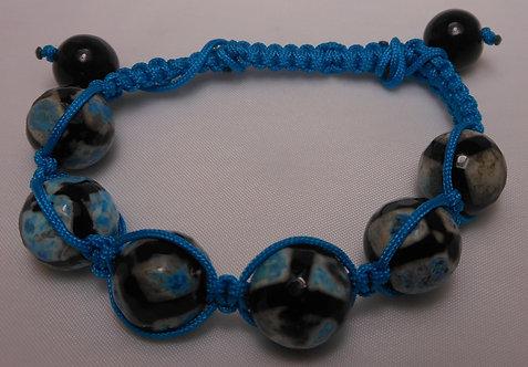 Soccer Bead Cord Bracelet