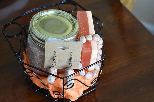 Sweet Marble Gift Basket