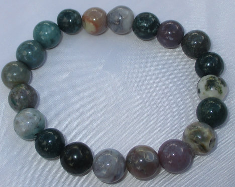 Fancy Jasper Stretch Bracelet