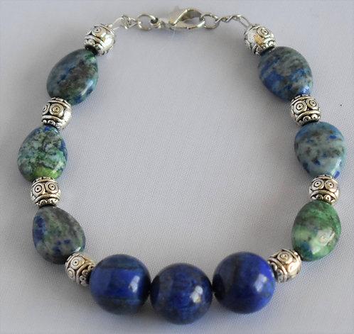 Rainforest Blue Bracelet