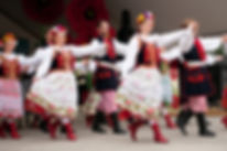 Dance Group Wawel Performing Polonez